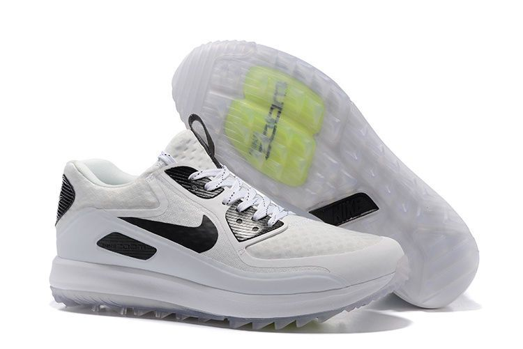 75226e433cec9 NIKE AIR ZOOM 90 IT Golf Shoes MENS White Black 8.5 844569 100  175 NEW   Nike  Golf