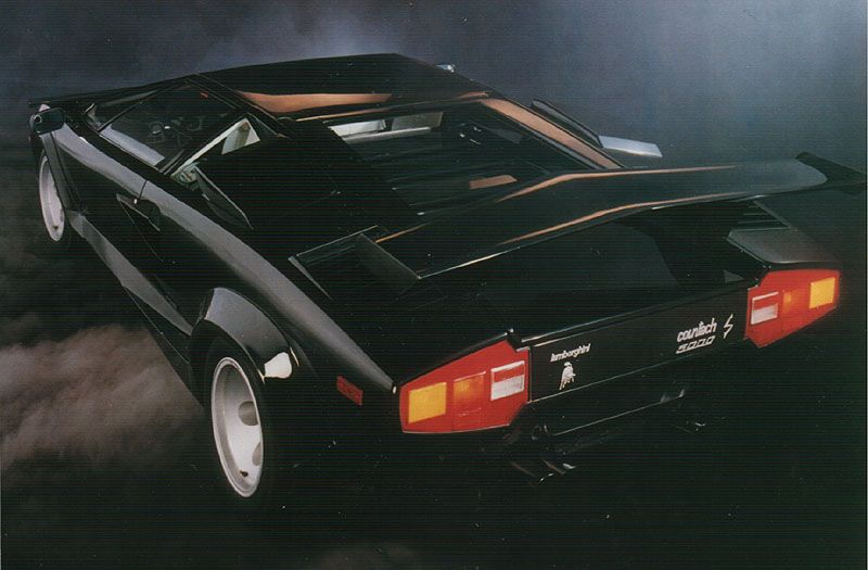 Lamborghini Countach Poster. High Resolution images