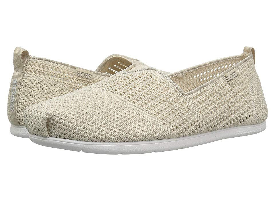 BOBS from SKECHERS Plush Lite Peek (Natural) Women's Slip