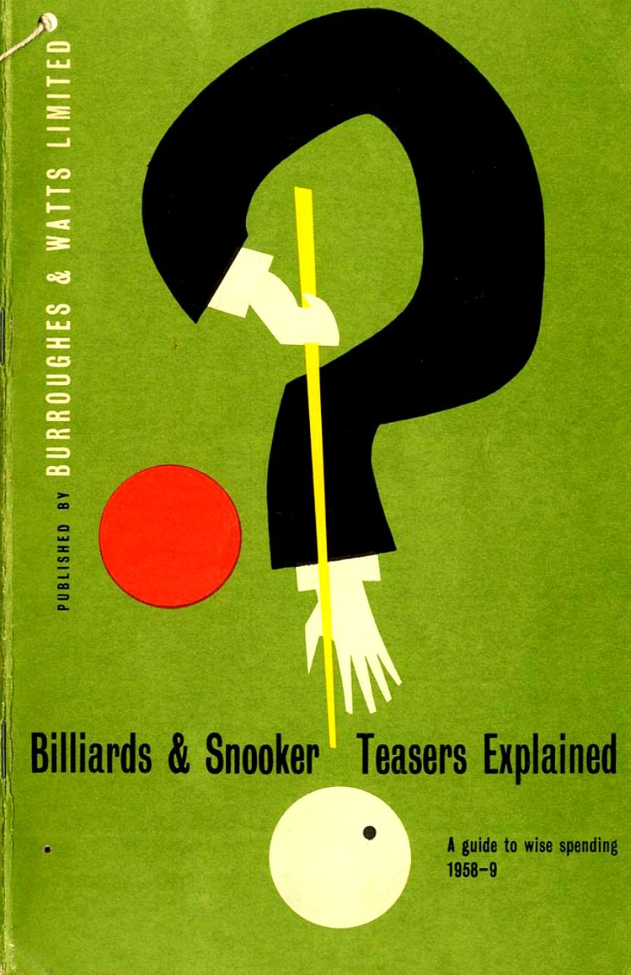 Billiard snooker magazine poster art billiards pool for Pool design book