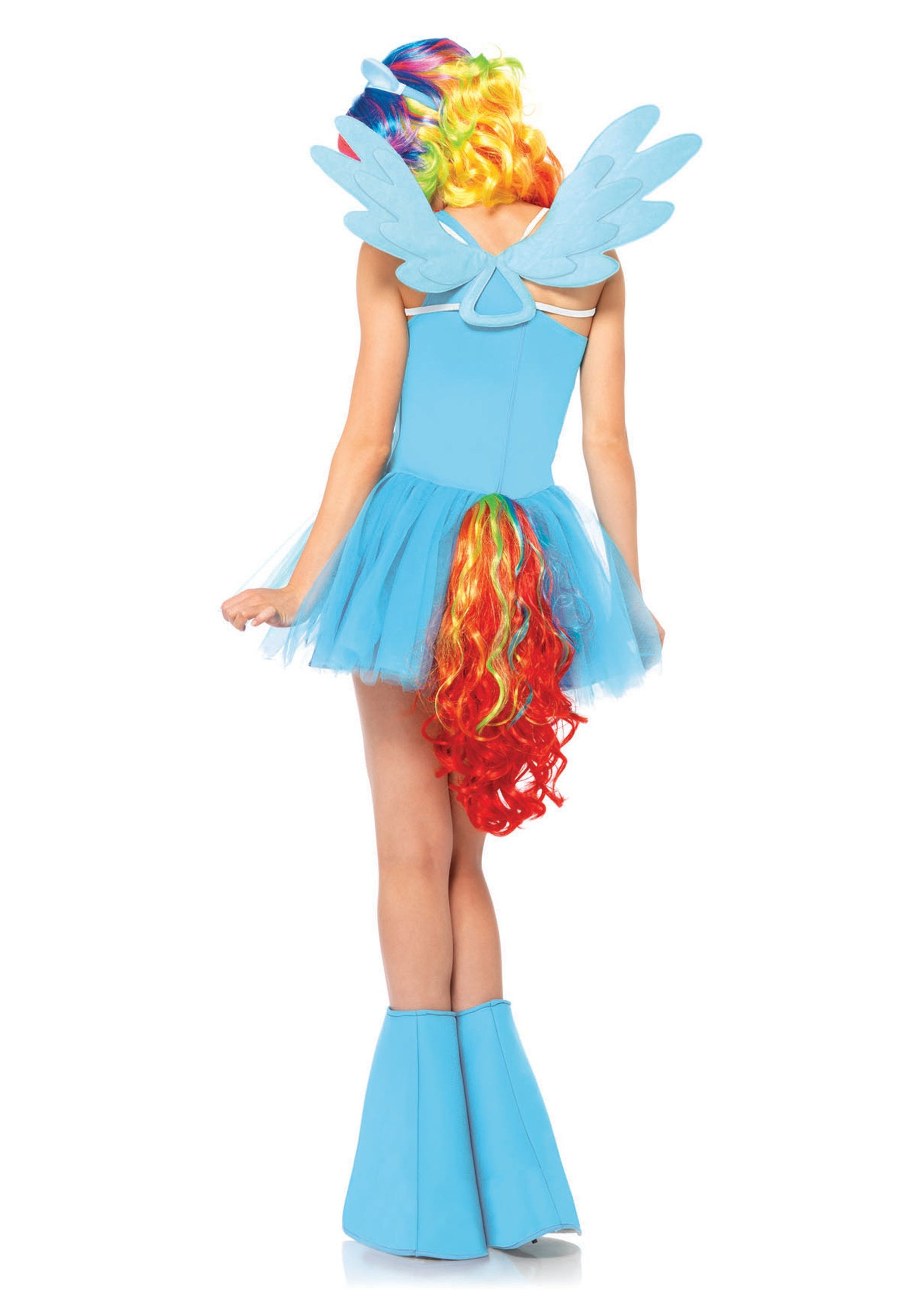My Little Pony Rainbow Dash Adult Costume | Rainbow dash, Pony and ...