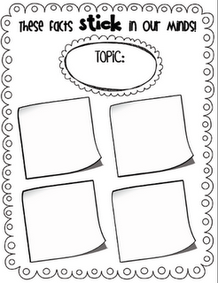 Main Idea graphic organizer and Summary for Non-fiction- LINED ...
