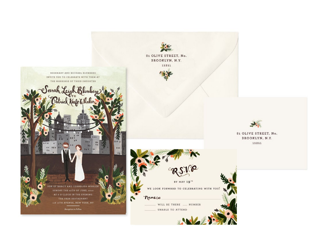 My Favorite Wedding Invitation Designers