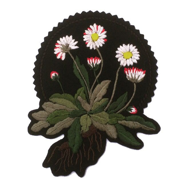 Daisy Patch Ellie Mac Embroidery