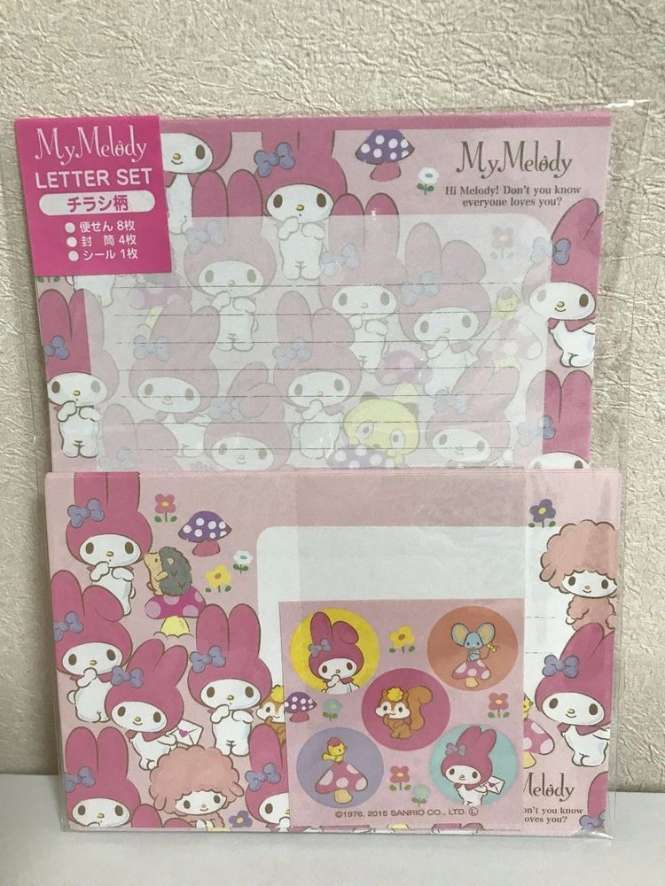 Daiso Japan Leter Set My Melody sanrio japan F/s