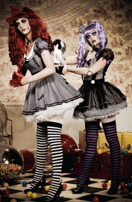Maquillaje Muñecas Diabólicas Disfraces Halloween Mujer Disfraces De Terror Halloween Disfraces