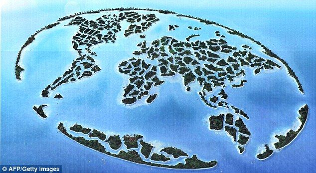 Is it the end of the world nasa picture suggests dubai globe is the world islands in dubai it is a man made archipelago of 300 islands constructed in the shape of a world map 4 kilometers off the coast of dubai gumiabroncs Gallery