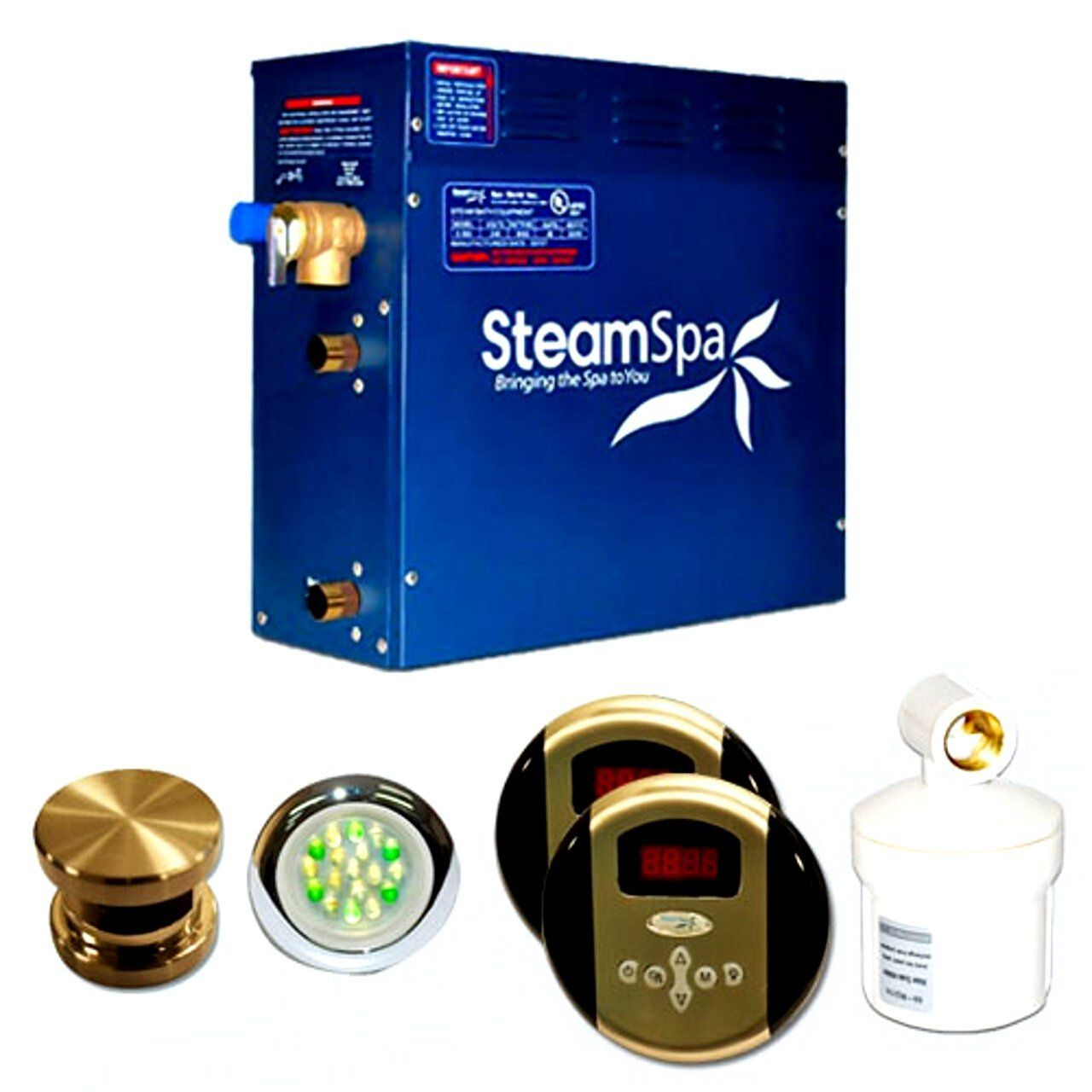 Steam Spa Ry900bnc Royal Complete Package With 9kw Steam