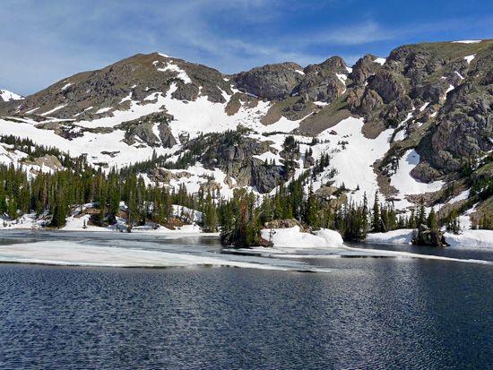 Jasper Lake Indian Peaks Wilderness | Travel-Colorado Hiking ...