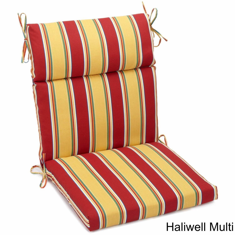 Blazing needles outdoor threesection seatback chair cushion x