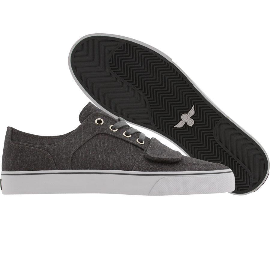Creative Recreation Cesario Low XVI shoes in smoke pinstripe