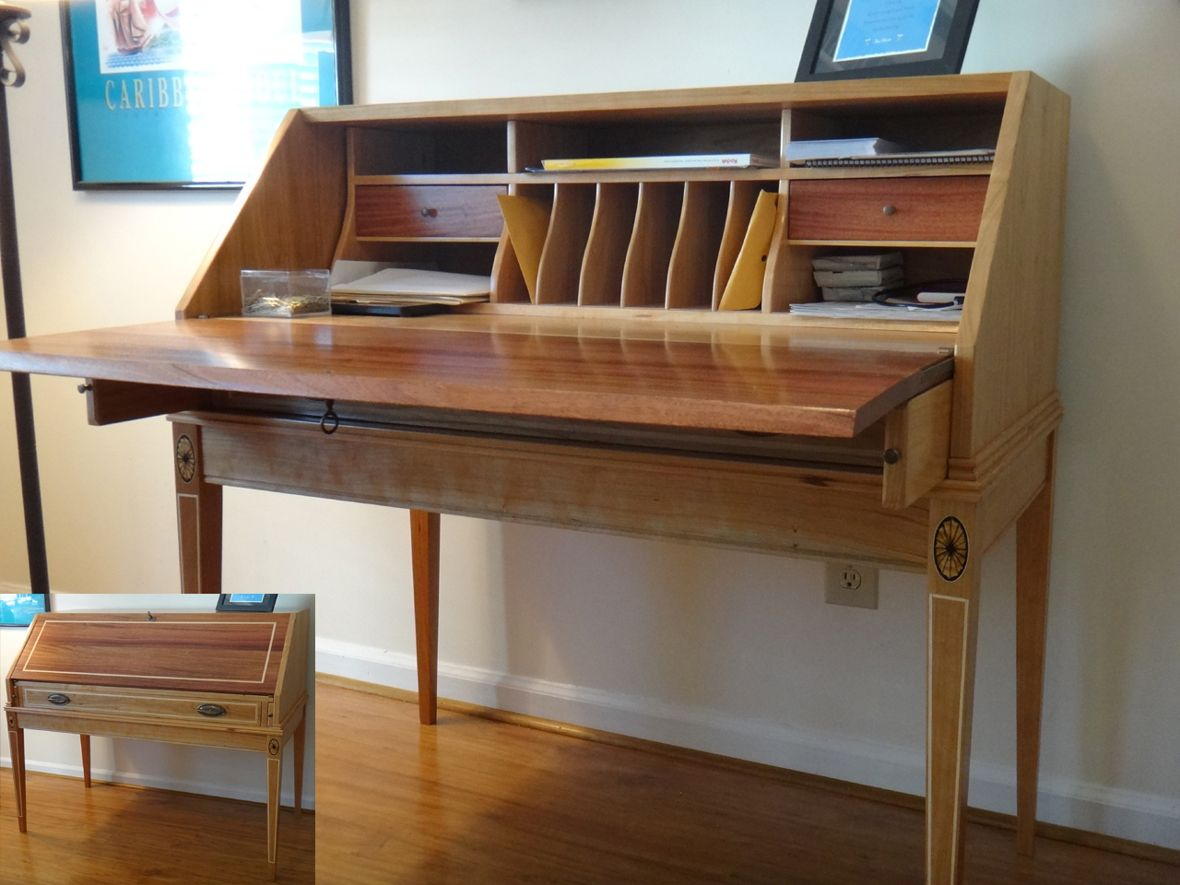 Secretary desk furniture plans - Secretary Desks Secretary Desk Reader S Gallery Fine Woodworking