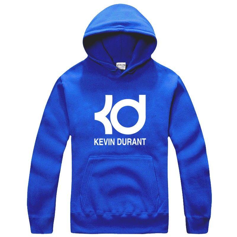 NBA Oklahoma City Thunder Kevin Durant KD logo pullover hoodie ...