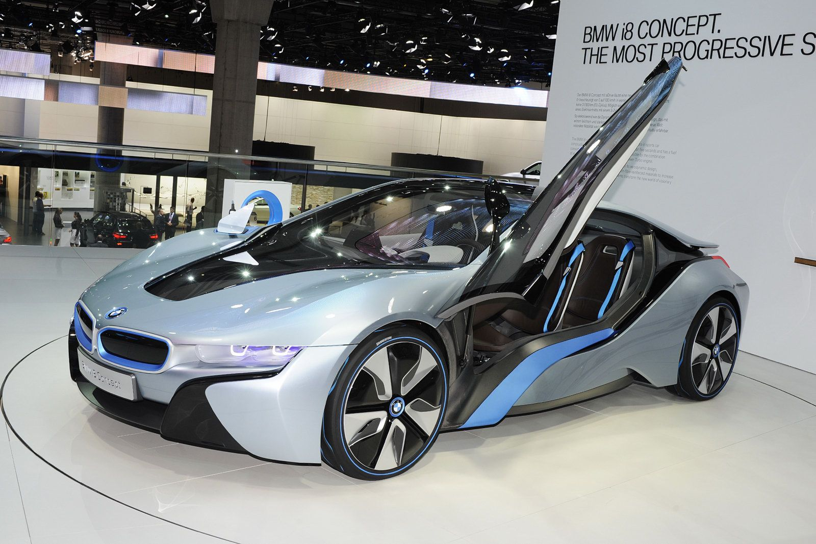 New 2013 Bmw I8 92 Mpg And 0 60 In 4 6 Cars Trucks Pinterest