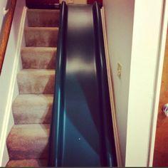 Image Result For Diy Indoor Slide Indoor Slides Stair Slide Indoor