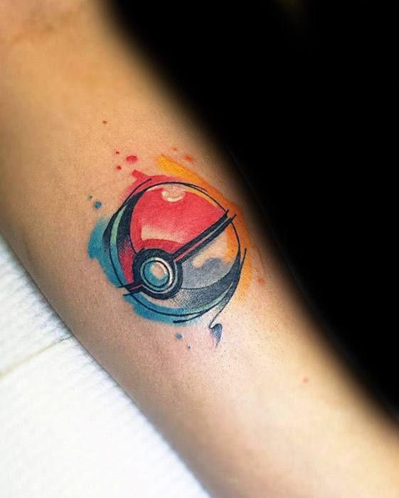 50 Pokeball Tattoo Designs für Männer – Pokemon Ink Ideen - Mann Stil | Tattoo