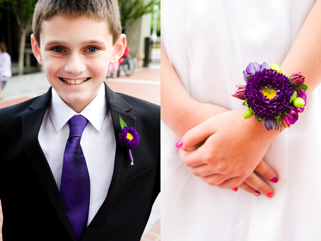 Flower Girl Bracelet Utah Wedding Flowers Calie Rose