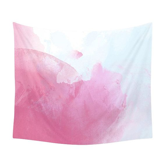 Watercolor Tapestry Pink Pattern Abstract Texture Bohemian