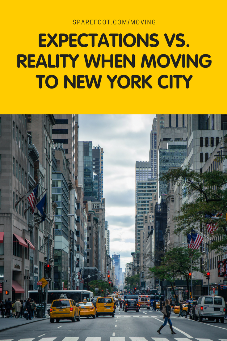 Expectations Vs Reality When Moving To New York City Sparefoot Moving Guides New York Life Living In New York New York City Apartment