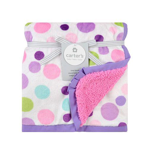 Carter's Valboa Blanket Girls Dot Print - Triboro Quilt Co ... : triboro quilt - Adamdwight.com