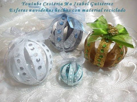 Como Hacer Una Esfera De Navidad Facil Y Barata Diy Patchwork