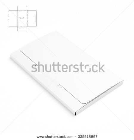 Slim business card box with die cut template stock photo design slim business card box with die cut template stock photo fbccfo Choice Image