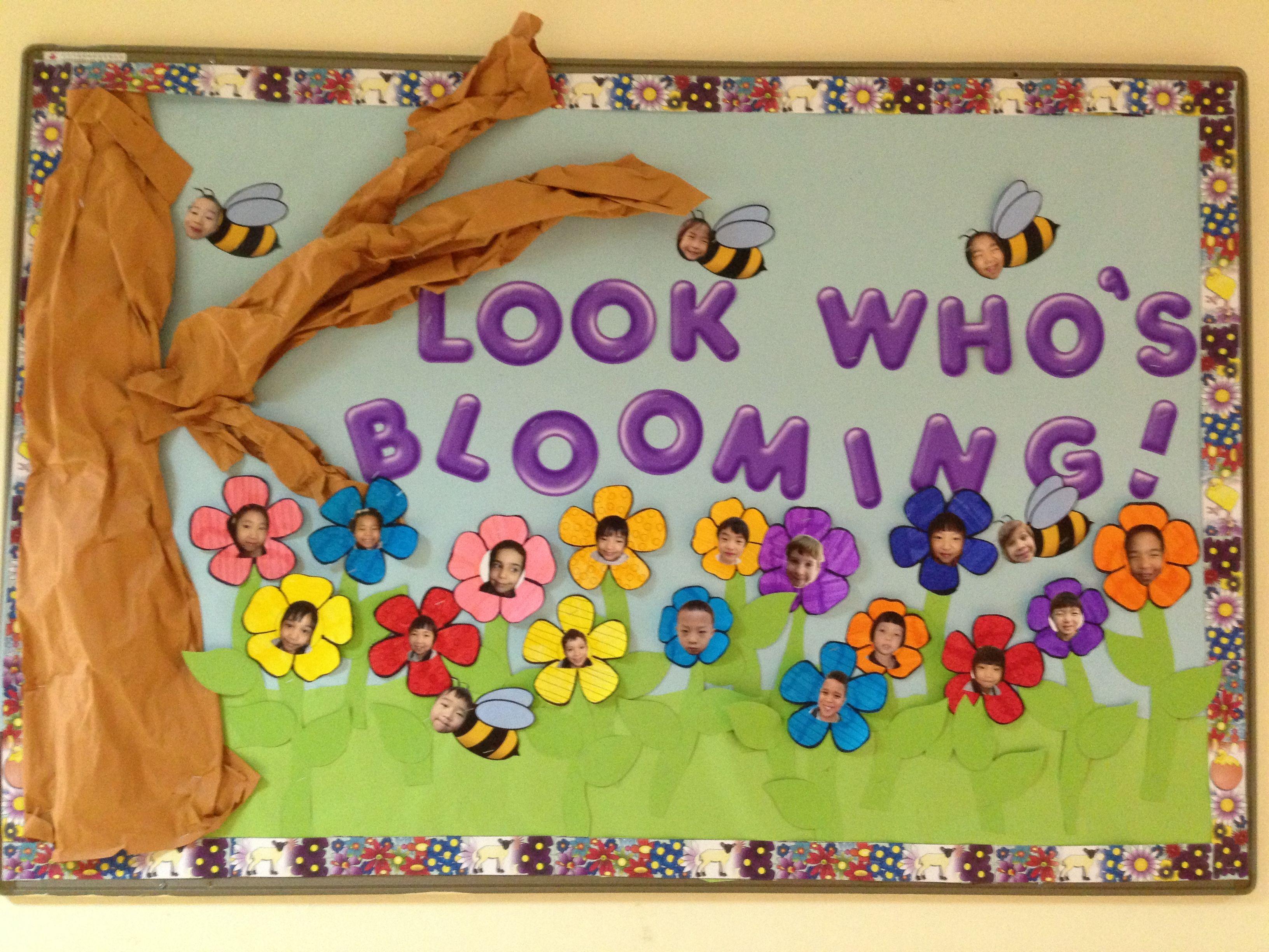 Pin By Zenaida Gorospe On Bulletin Boards Spring Bulletin Boards Preschool Spring Bulletin Boards Spring Bulletin