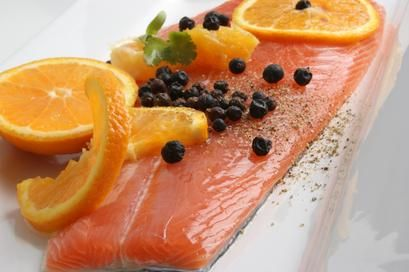 Ricetta: salmone all'arancia