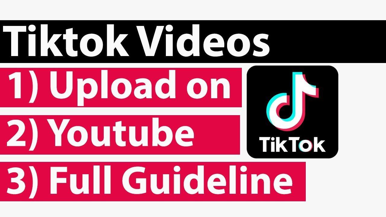 Can I Upload Tiktok Videos On Youtube Making Money On Youtube Youtube Youtube Videos