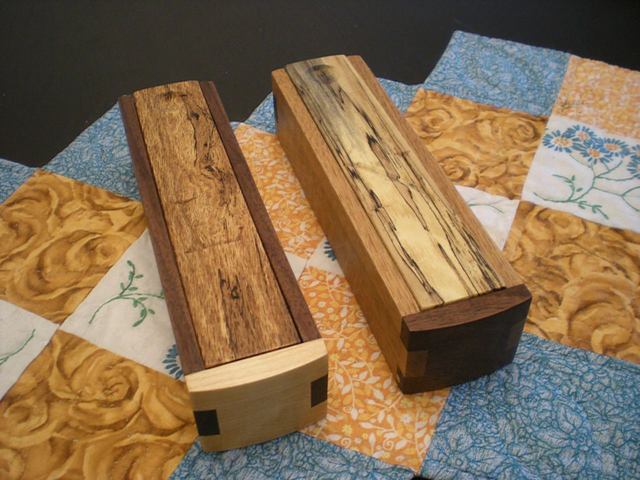 these are fun and easy to make in mass. pencil box