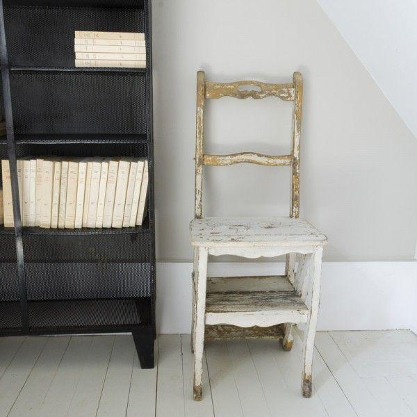 perfect chaise escabeau with chaise escabeau bois. Black Bedroom Furniture Sets. Home Design Ideas