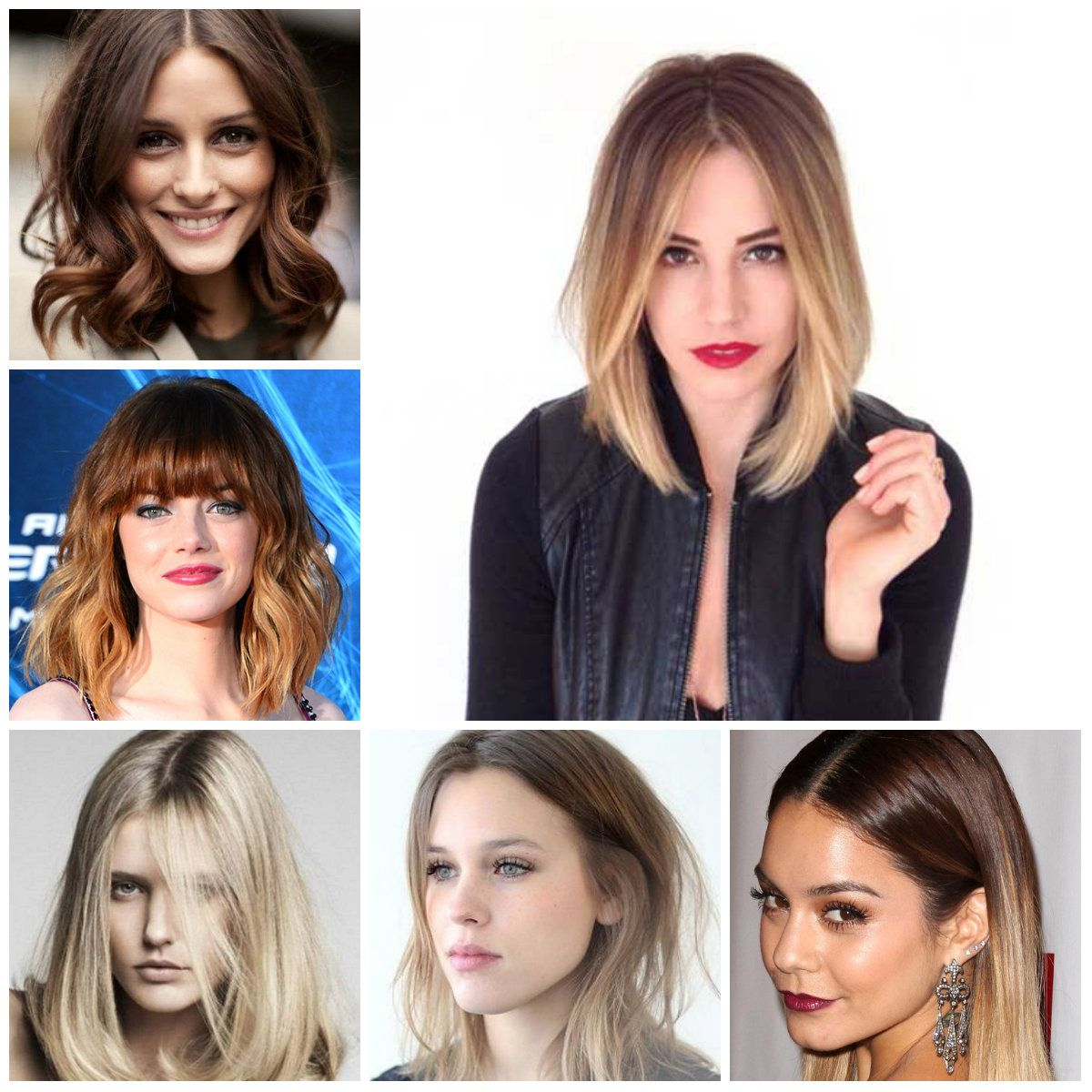Trendy Lob Hairstyles For 2016 New Haircuts And Hair Colors From Special