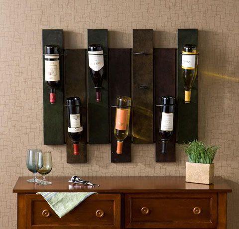 Nora 7-bottle wine rack. Overstock $76.99   New House Inspirations ...