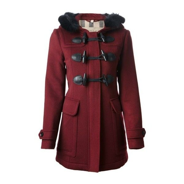 BURBERRY Duffle Coat found on Polyvore