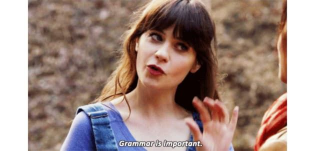 How Much Of A Grammar Snob Are You Zooey Deschanel Spelling Quiz New Girl