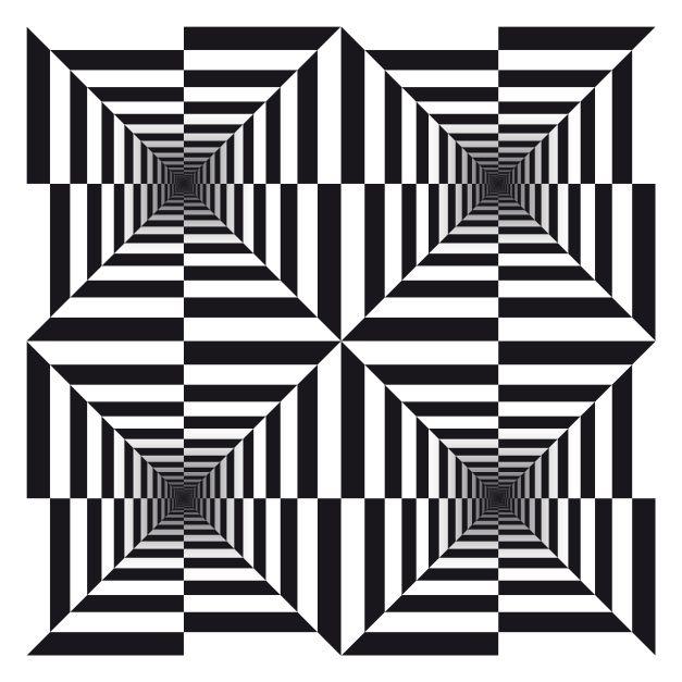 Cool Geometric Art Optical Illusions