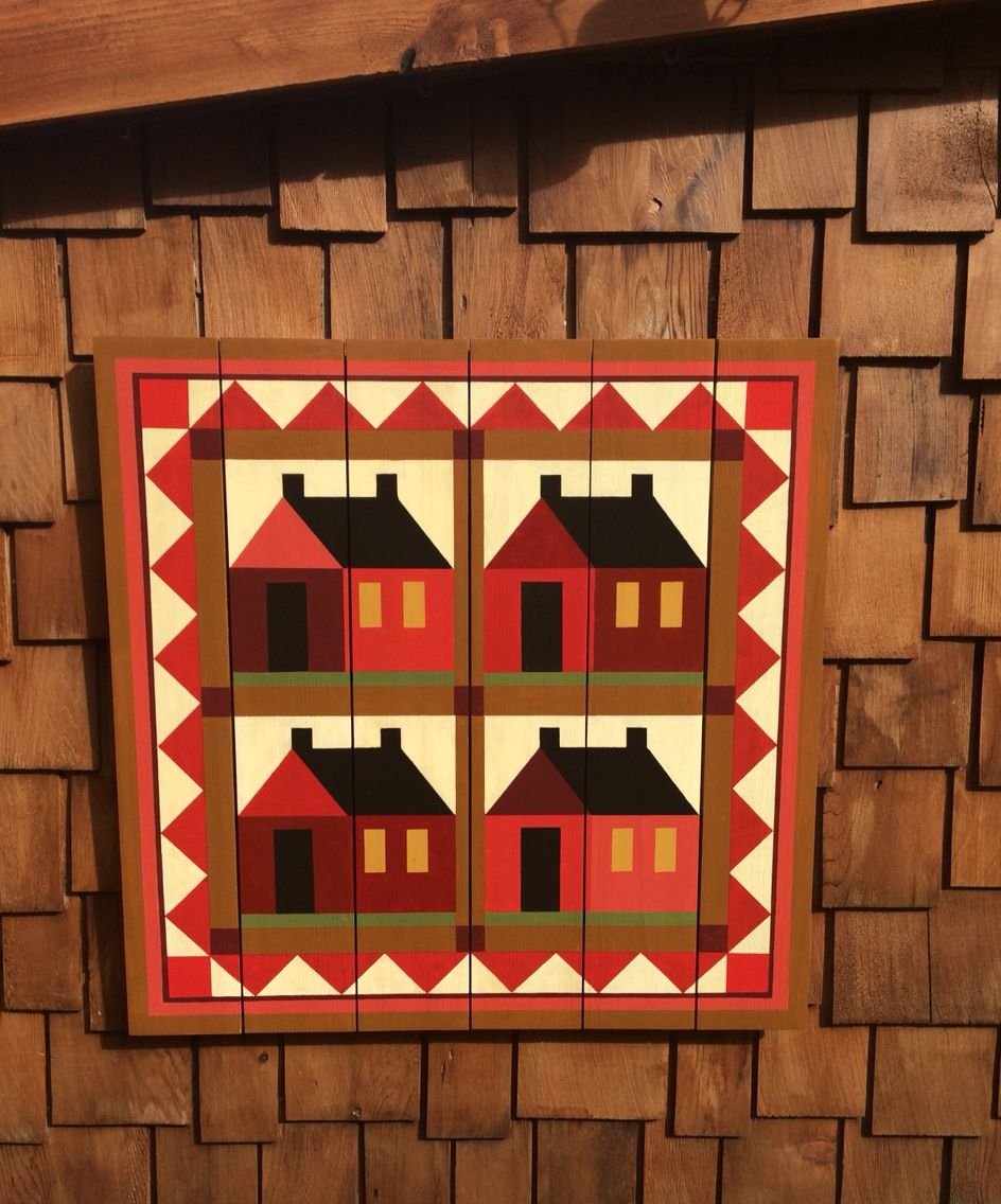 Little Red Schoolhouse Barn Quilt
