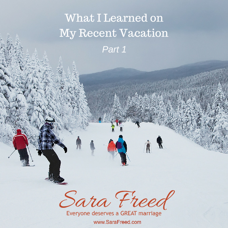 New blog post! What I Learned on My Recent Vacation (Part 1)