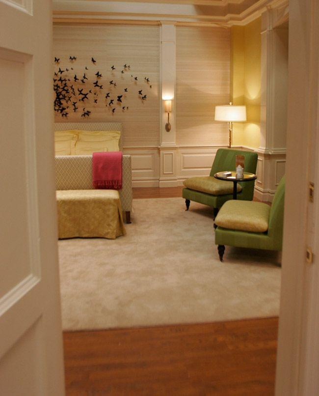 Perfekt Schmetterlinge · Schlafzimmer Ideen · Innenarchitektur ·  Appartement De Blair Waldorf Gossip Girl 14