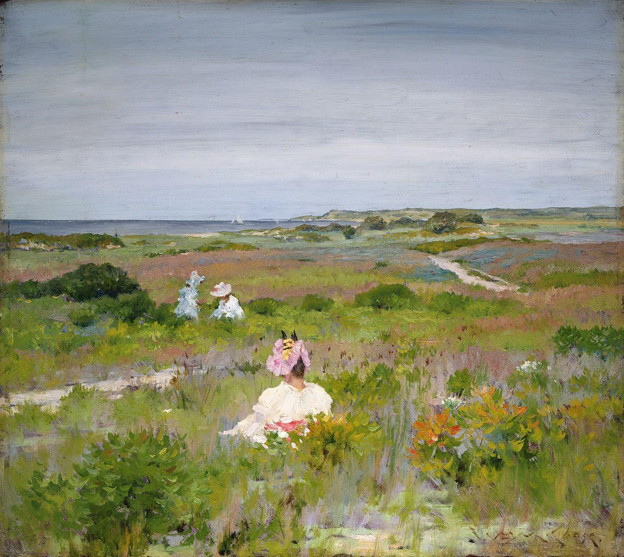 William Merritt Chase - Shinnecock, Long Island (c.1896) - William Merritt Chase - Wikipedia, the free encyclopedia