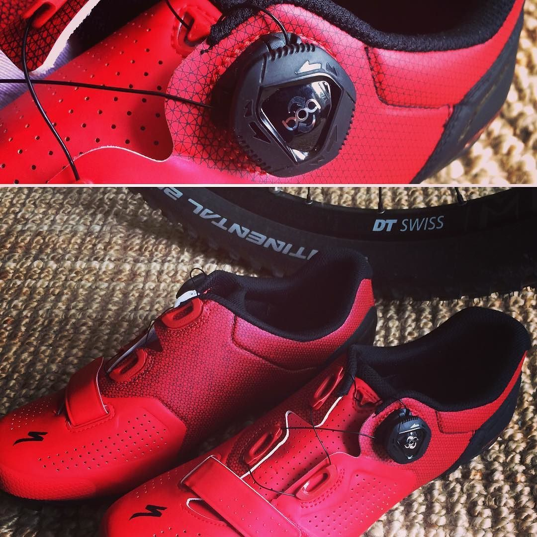 9006c6d511 First  clean  rides last week with Specialized Expert XC mountainbike shoes  with Boa closures