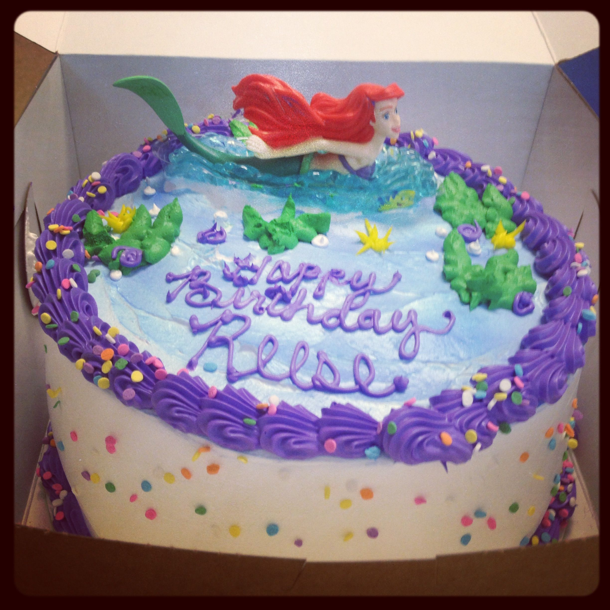 Simple Little Mermaid Cake From Grocery Store 20 Beautiful