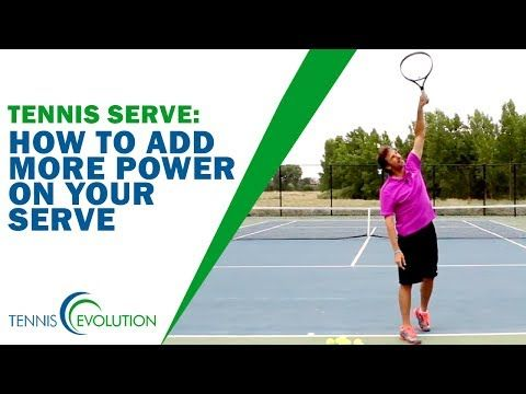 How To Finish On The Kick Serve Tennis Serve Youtube