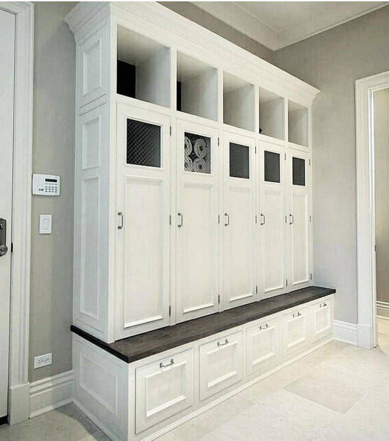 Mudroom Lockers Bench Storage Furniture