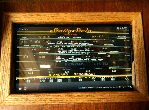Face Of Touch Screen Jukebox