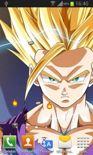 Download DragonBall Z Live Wallpaper HD Android Live
