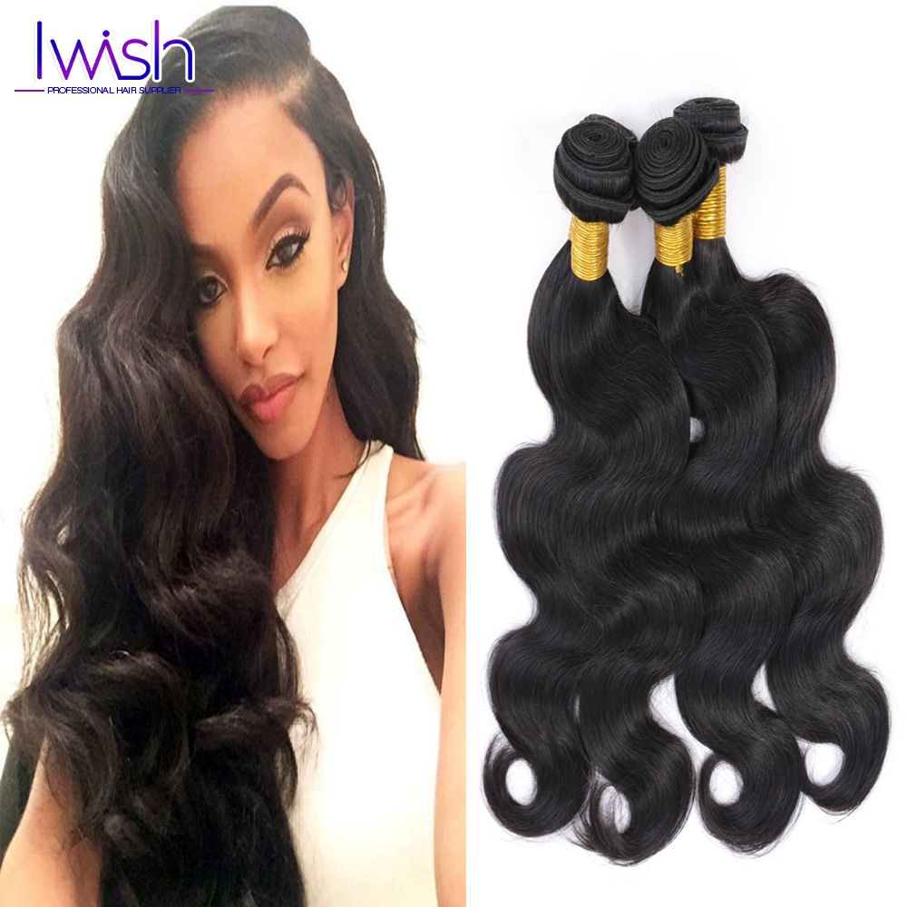 Discount Prices Iwish Hair Products Malaysian Virgin Hair Body Wave