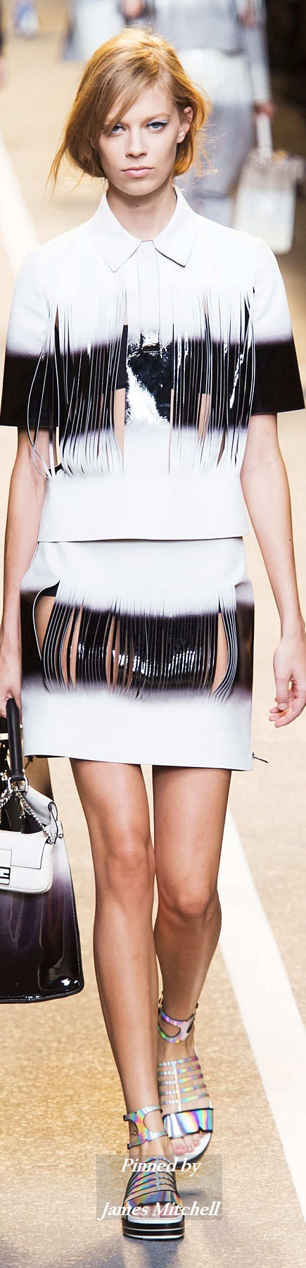 FENDI Collection Spring 2015 Ready-to-Wear
