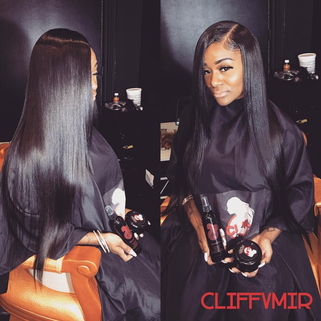 Side Part Sew In Hair Pinterest Hair Style Weave