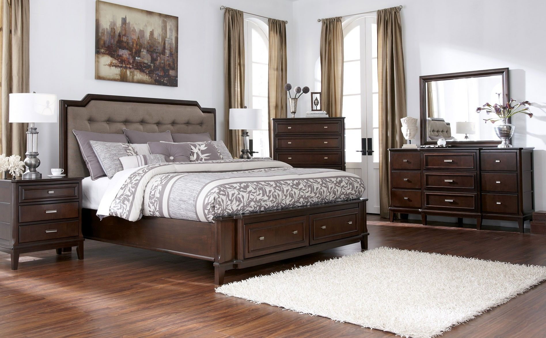cheap headboard fairbrooks queen king esmarelda complete bedroom store city ashley outlet sale gallery clearance el on room living set mattress me full zelda near gorgeous estate erinmagnin broadway poster miami furniture headboards dorado under sets